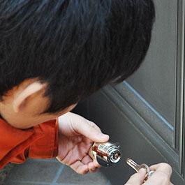 開錠後の鍵交換