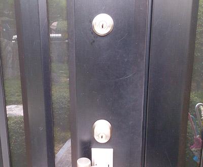 玄関のシリンダー錠