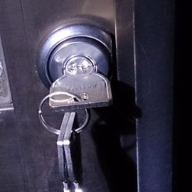 交換後の鍵
