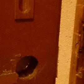 トイレのドアの鍵交換|横浜市神奈川区神之木台