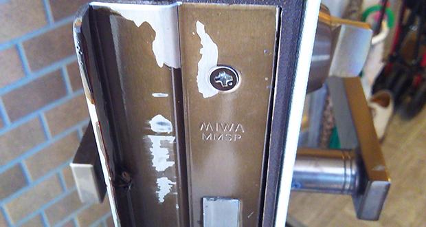 MIWA社のJNシリンダーに交換