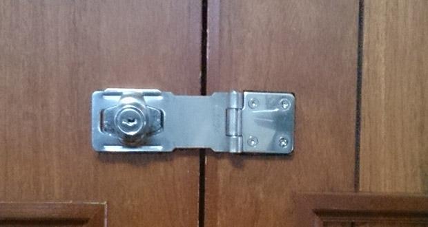 ALPHA社の掛け金錠