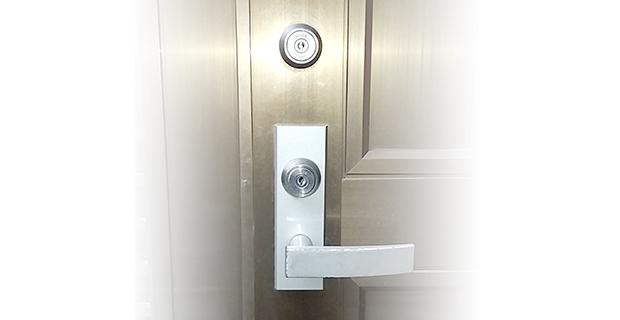 住居の玄関の鍵交換
