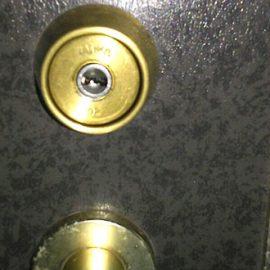 大田区蒲田で回りにくい玄関の鍵
