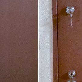 事務所の入り口ドアに鍵取り付け|千代田区九段北