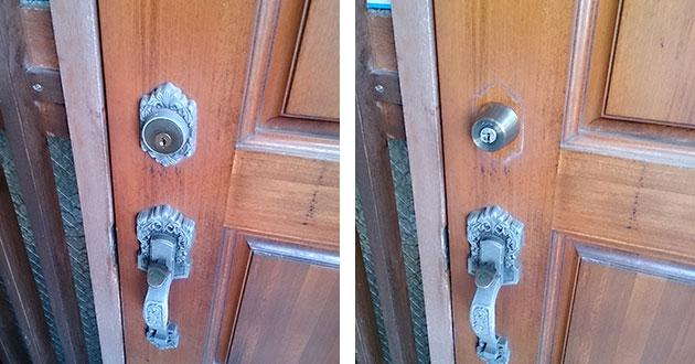 チューブラ錠の鍵交換
