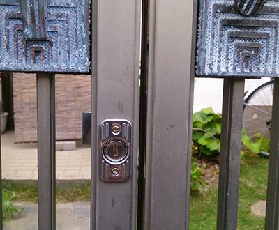 門に鍵を取り付けたい