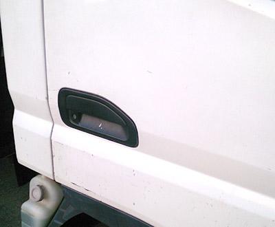 トラックの鍵をなくした