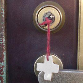 玄関ドアの鍵修理