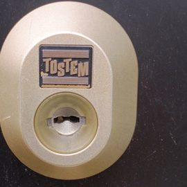 トステムシリンダーの鍵交換