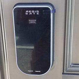 電子錠イージスゲートに鍵を交換|渋谷区西原