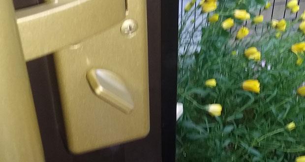 鍵が回らない