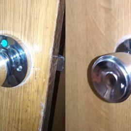 トイレの扉が開かない 解錠と鍵交換|岸和田市上野町西