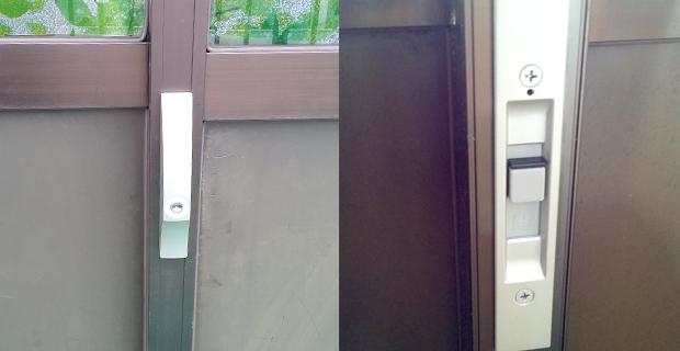 MIWAの引き違い戸錠