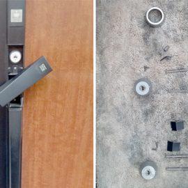 引っ越しに伴いMIWAの鍵が付いた玄関の鍵交換|立川市西砂町