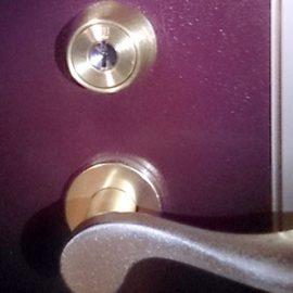 和泉市 新居の鍵交換