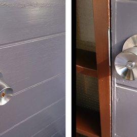 玄関ドアの錠前とドアノブを交換|所沢市小手指南