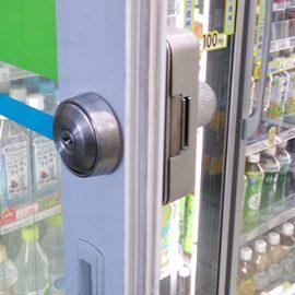 鍵の紛失や閉じ込めの心配がないキーレス錠へ交換 熊谷市筑波