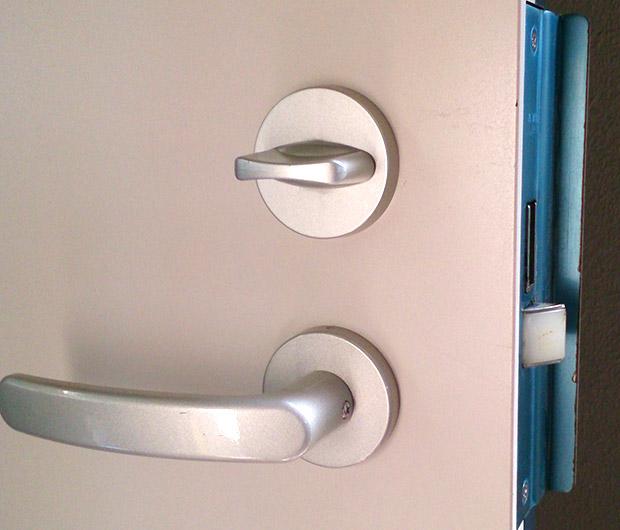 引っ越した事務所の鍵