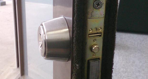 ディンプルキーのWEST916へ鍵交換