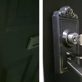 装飾錠の鍵交換
