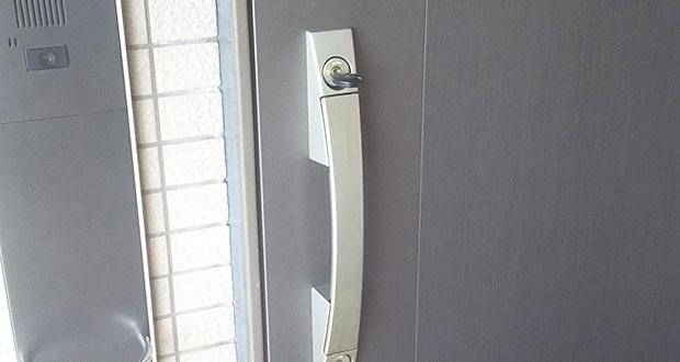 動作不良が起きた玄関の鍵