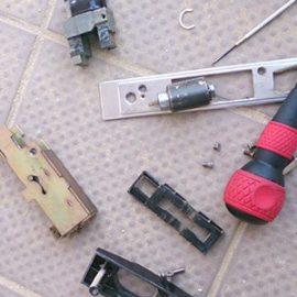 鍵がかけられなくなった玄関の鍵修理|我孫子市泉