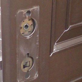 ドアの両側とも鍵がかけられない玄関の鍵修理|千葉市若葉区加曽利町