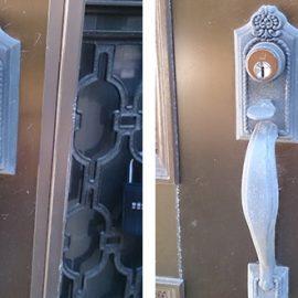 防犯の為に家の鍵をWEST社のディンプルキーに交換|流山市駒木