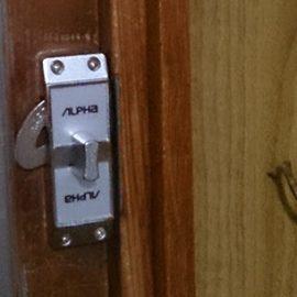 壊れた玄関引き違い扉の鍵交換|大阪市住吉区遠里小野