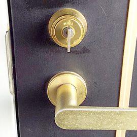 回りにくい玄関の鍵修理|大阪市住吉区苅田