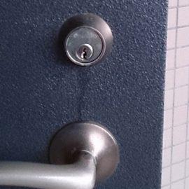 鍵が挿さらない玄関の鍵修理 さいたま市北区宮原町