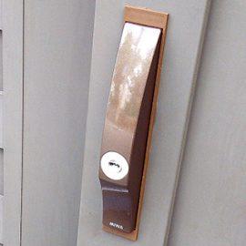 玄関の鍵紛失で防犯の為の鍵交換|堺市堺区田出井町