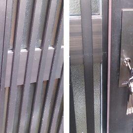 鍵を紛失した玄関引き戸の鍵交換 朝霞市本町