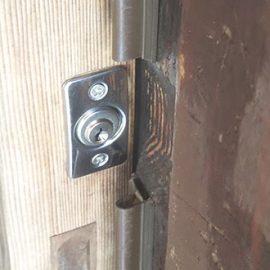 交換後の引き戸の鍵
