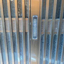 玄関引き戸の古い鍵を交換 横浜市栄区桂台西