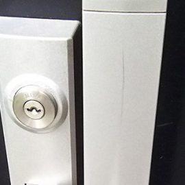 鍵を失くしてしまったため玄関の鍵交換|大阪市福島区大開