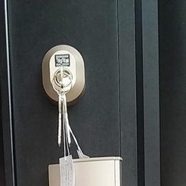カギ折れ詰まりによる玄関の鍵交換|大阪市天王寺区勝山
