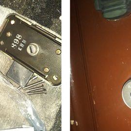 玄関の鍵を紛失、家が繁華街に近いので即日交換|川西市栄町
